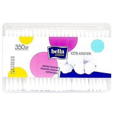 Bella italia бишкек - Кыргызстан: Ватные палочки Bella Cotton гигиенические 350 шт