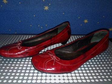 HITNO - NOVO Kozne, handmade, crvene cipele  - Novi Sad