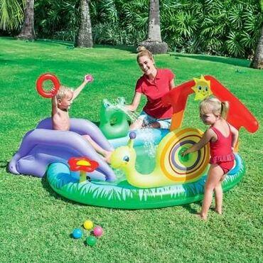 Pretvarac - Srbija: Bestway dečiji bazen Play & Grow 53055 dim. 211x155x81cm🥳Bestway