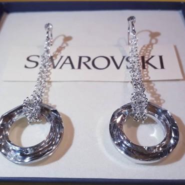 Swarovski elements Hand made NOVO!! Steriling silver,silver 925