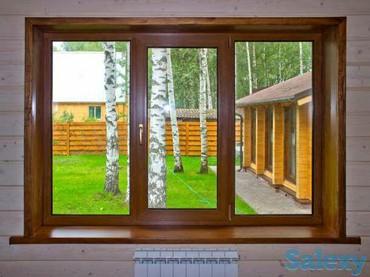 Пластиковые окна в Кара Балте!Алюминиевые конструкции.- Двери -