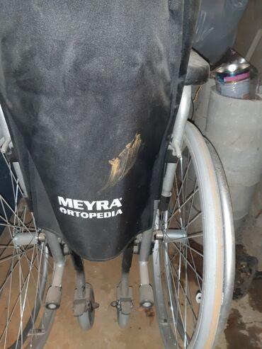 Инвалидные коляски - Кыргызстан: Продаётся инвалидная коляска, новая, Германия,с тормозом и дополнитель