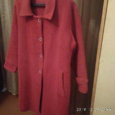 пальто лама в Кыргызстан: Продаю новое женское пальто( стриженая лама), отлично сидит по