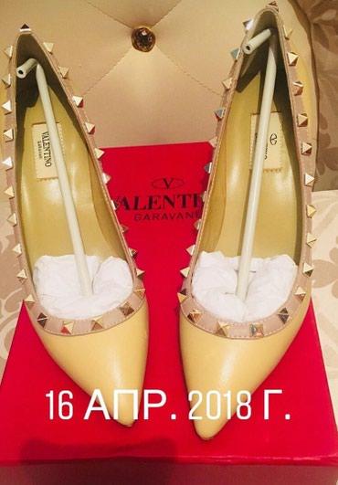 рюкзак valentino в Кыргызстан: Туфли Valentino, кожа, размер 39