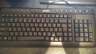фортепиано на клавиатуре в Азербайджан: A4Tech клавиатура. Использовалась 3 недели