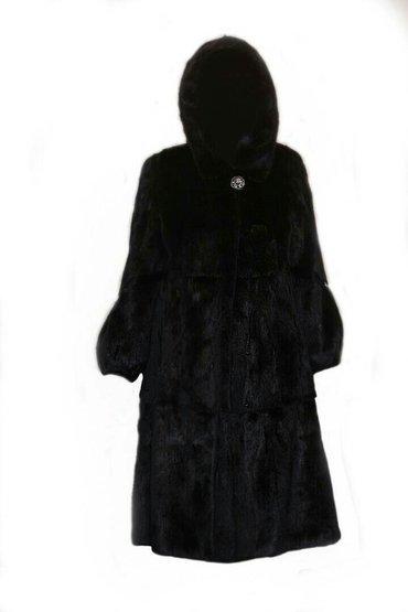 шикарная норковая шуба в Кыргызстан: Срочно продается шикарная норковая шуба, цвет черный на солнце