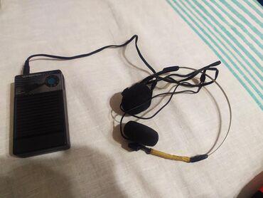 IPod и MP3-плееры - Кыргызстан: Радиоприемник малый с наушниками