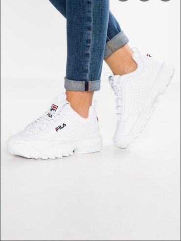 Женская обувь в Ош: Женские (casual shoes) кроссы оригинал Fila заказ из Америкибудет в