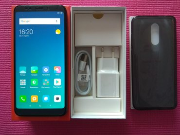 Xiaomi redmi 5 plus 4/64 gb matte black в Душанбе