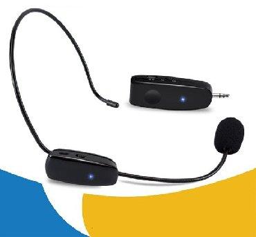 беспроводной-микрофон в Кыргызстан: Беспроводной головной микрофон+БЕСПЛАТНАЯ ДОСТАВКА ПО