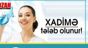 Bakı şəhərində azadliqda otele xadime xanim teleb olunur is saati 08.00-16.00 kimi em