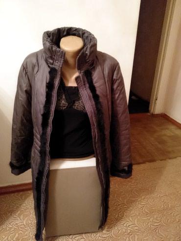Пальто - Кок-Ой: Отличная удлинённая женская куртка пуховик. Есть капюшон. Размер 48-50
