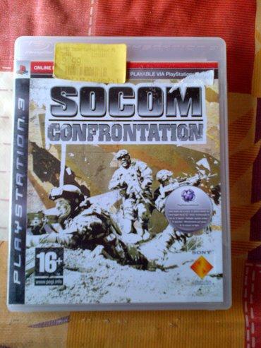 Igrice za ps3 - Srbija: SOCOM confronttation igrica za Sony Playstation 3 =ispravne su