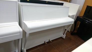 Rusiya istehsalı akustik piano. Satışda müxtəlif marka və modellərdə