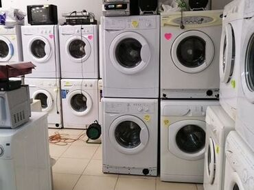 бу стиральная машина автомат in Кыргызстан   СТИРАЛЬНЫЕ МАШИНЫ: Фронтальная Автоматическая Стиральная Машина Hotpoint Ariston 6 кг