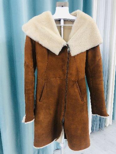 зимние пальто бишкек в Кыргызстан: Дубленка (сделана на заказ); 100% овчина  Размер S-M