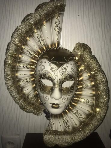 Настоящяя Венецианская маска Сувенир из Венеции в Бишкек