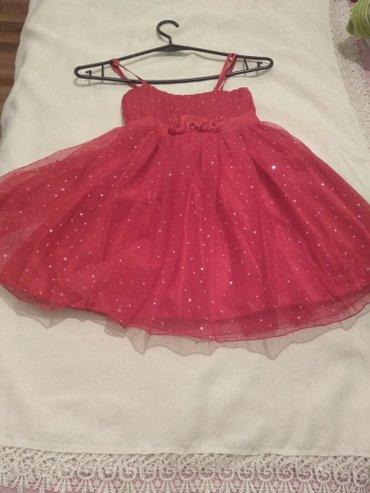 Bakı şəhərində платье вечерние на девочку 5-6 лет.Б/у в отличном состоянии одевали 2