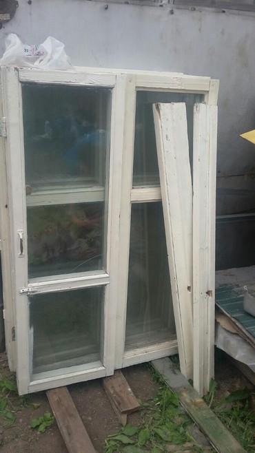 Деревяные окна 5 шт в Бишкек