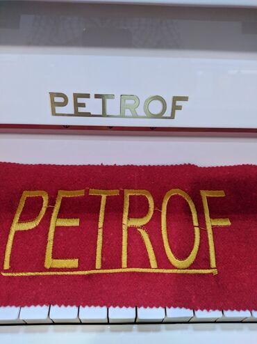 Bakida Petrof uc pedalli piano satilir
