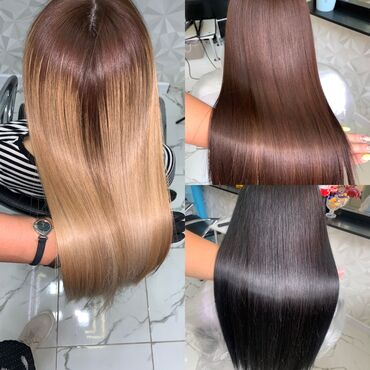 Нанопластика волос любая длинаНереальный блеск и гладкость