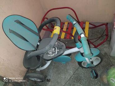 Продам детский велосипед. С ручкой для родителей, козырьком