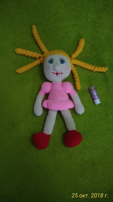 Кукла из гипоалергенной детской в Бишкек