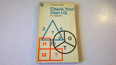 Check Your Own I.Q. - Hans J. Eysenck σε Athens