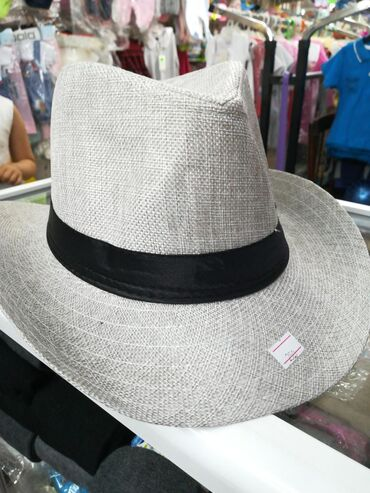 Головные уборы - Кыргызстан: Мужская шляпа 58 р.р 250 сом продаётся в магазине МалышОК