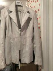 Monina kozna jakna sa svarovski kristalima. Ostale informacije putem p - Beograd