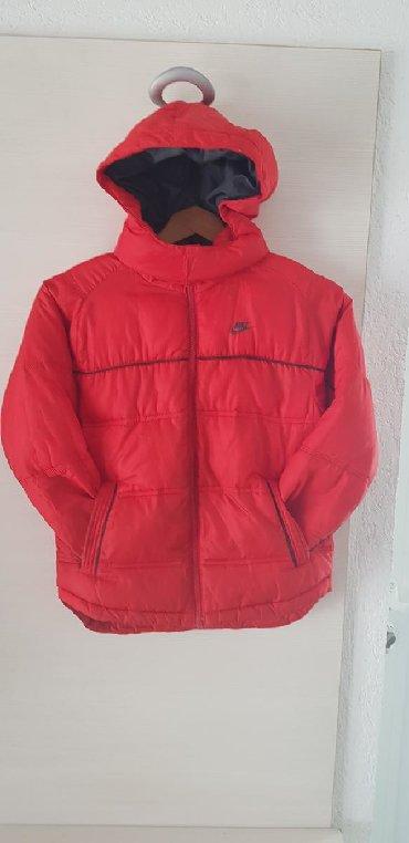 Decije zimske jakne - Srbija: Decija Nike zimska jakna,6/7 god,vel L,116/122cm,topla i prakticna!