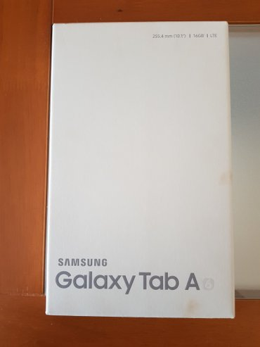 """Samsung Galaxy Tab A, 10.1""""  LTE Μαύρο χρώμα (SM-T585N), Καινούριο με  σε Δυτική Θεσσαλονίκη"""