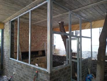 Продажа другой коммерческой недвижимости в Кыргызстан: Алюминиевые окна и двери витражи  тёплый и холодный серия