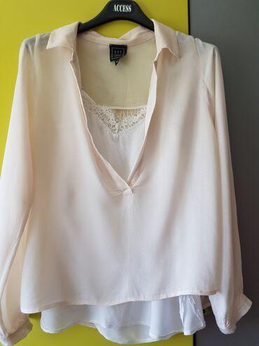 ACCESS predivna tanka bluzica sa majicom, vel s/m kao novo, sira je