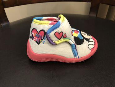 Decija obuca - Srbija: Minnie Mouse dečije ženske roze patofne broj 20 -