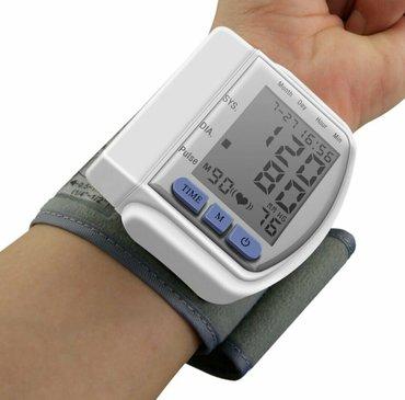 Автоматический наручный цифровой жк монитор артериального давления пор в Баку