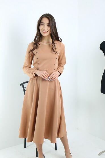 узбекские платья со штанами в Кыргызстан: Платье Коктейльное Zolotoe Runo XL