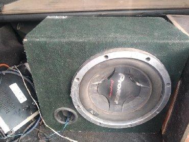 Аудиотехника - Кок-Ой: Саб буфер пионер оригинал две калонки и усилок оригинал Корея