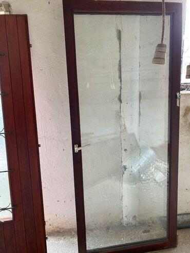 Nameštaj - Sid: Balkonska vrata staklo 208x90cm