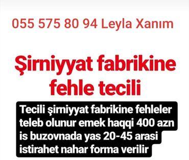 kisilr uecuen torskilli krossovkalar - Azərbaycan: Şirniyyat fabrikinə fəhlə təcili əmək haqqı 400 azn