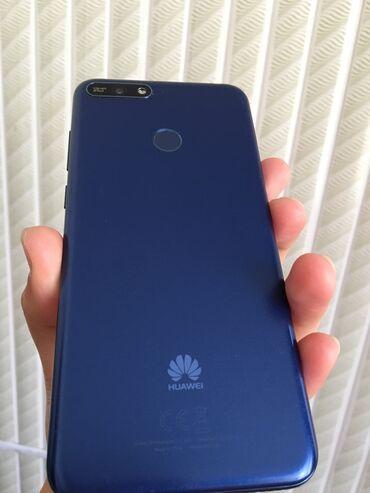 Huawei Y6 | 16 ГБ | Синий | Б/у | Гарантия, Сенсорный, Отпечаток пальца