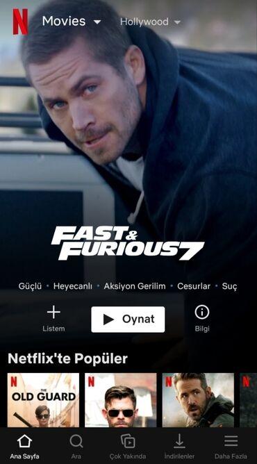 Məişət xidmətləri Azərbaycanda: Netflix də əla filmlərə və seriallara hele baxmamisan? Hə səbəbin başa