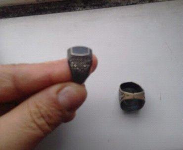 Bakı şəhərində Gümüş üzüklər qaşsız olan sssr vaxtının üzüyüdü.ikisi 20 man.