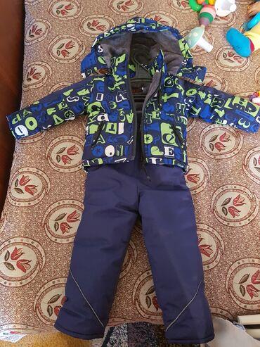 Зимний комбез на мальчика до 1,5 года.Классное качество,почти не