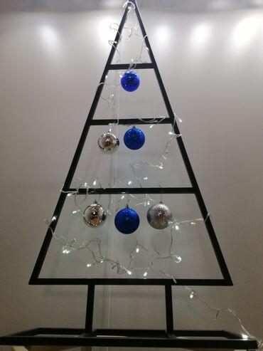 Новогодние Ёлочки в стиле ЛОФТ для вашего уютного интерьера Размер