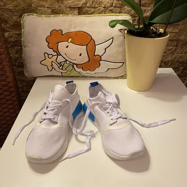 Ženska patike i atletske cipele | Beograd: TOTALNA RASPRODAJA!!!  Nove bele patike unisex, broj 36.  Snizene sa 1