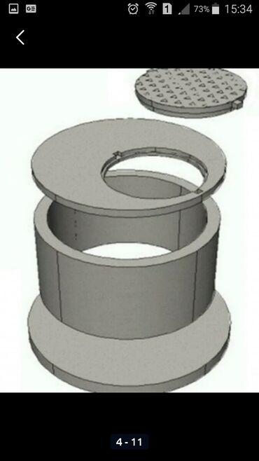 Предлагаем (ЖБИ) Кольца железобетонные для септика:Доставка с Завода