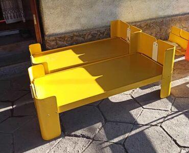 Детская мебель в Кыргызстан: Продаю детский кровать и столики. манеж звоните. оптом все
