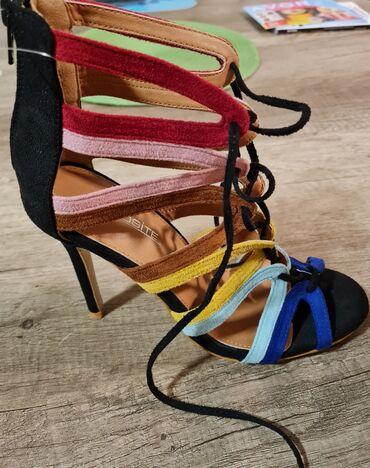494 oglasa | ŽENSKA OBUĆA: Nove sandale prelepe,broj 39