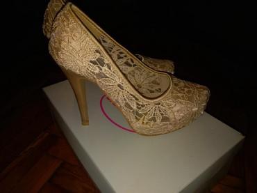 Ženska obuća   Sopot: Jednom obuvene, 37 br, 24cm gaziste, 12cm stikla, 2.5cm prsti